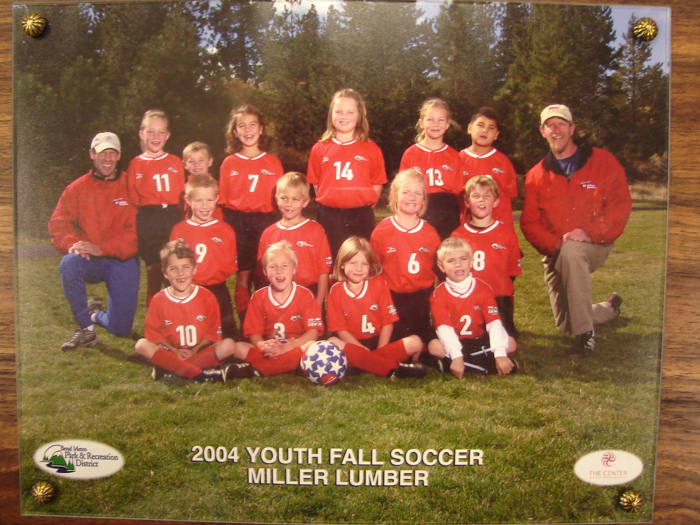 In addition to supporting club sports, Miller Lumber consistently supports Bend Park and Recreation teams.